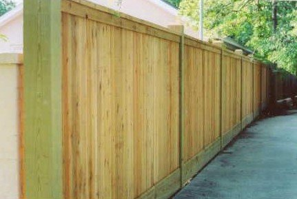 treated-wood -privacy-fence